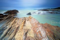 Tanjung Jara (Arief Rasa) Tags: longexposure rock lee monsoon malaysia jara terengganu tanjung dungun gnd bigstopper ariefrasa