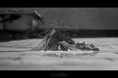 Mi irrealidad (Talaveroncio) Tags: blackandwhite bw espaa blancoynegro clouds photomanipulation photoshop photography sevilla paint bokeh surrealism fineart bn nubes montaje conceptual montaa dibujo azotea photoshopping baera fotografa surrealismo concepto monuntain sonyalpha290 talaveroncio talavern