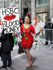 HSBC_valentinesdemo_DSC_0049 (Michael Fleshman) Tags: nyc newyorkcity protest bank hsbc banks stvalentinesday bankers hsbcbank moneylaundering occupy toobigtofail occupywallstreet toobigtojail