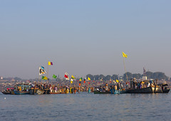 Pilgrims Bathing In Ganges, Maha Kumbh Mela, Allahabad, India (Eric Lafforgue) Tags: travel people india tourism water festival river outdoors photography togetherness boat bath asia day religion crowd n bank celebration event indie spirituality copyspace bathing riverbank indië hinduism pure pilgrimage religiouscelebration pilgrim inde traditionalculture hodu sangam humaninterest allahabad socialgathering haridwar 3500 purification indland gangesriver yamunariver インド uttarpradesh realpeople भारत kumbhmela traveldestinations colorimage indianculture הודו uttarakhand largegroupofpeople 인도 indiansubcontinent الهند celebrationevent traditionalceremony индия indianethnicity ινδία ھندوستان hndkastan հնդկաստան индија