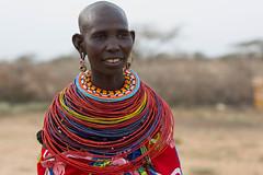 Samburu woman (Ring a Ding Ding) Tags: kenya tribe samburu indigenous 2013 sasaab
