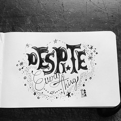 Despite Everything//// Porcelain Raft. ((_) - GLXI -   ) Tags: music white black blancoynegro blanco moleskine illustration ink square typography blackwhite song negro squareformat musica raft everything typo inkwell porcelain cancion tinta tipografia despite iphoneography instagramapp uploaded:by=instagram