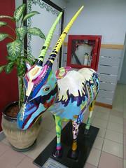 Oryx at Muscat airport (John Steedman) Tags: airport oman muscat  sultanateofoman       oryxmuscat