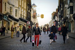 The Guy In The Red Jeans (pRaTuL rAgHaV) Tags: street people shopping photography evening high nikon 85mm nikkor guildford vignette d800 f18d