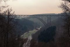 50 Megapixel (Herr Olsen) Tags: railroad bridge deutschland pano brcke solingen eisenbahnbrcke mngsten mngstenerbrcke