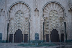 Hassan II Mosque (Gates) (JoelZimmer) Tags: travel morocco casablanca highlighted 24mmf28 nikond7000 uploaded:by=flickrmobile flickriosapp:filter=nofilter