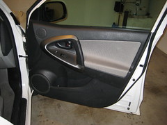 2012 Toyota RAV4 Front Passenger Interior Door Panel - Removing To Upgrade OEM Speaker (Paul Miguels) Tags: door diy do panel interior steps 2006 it off remove toyota take third instructions how guide removal rav4 2008 yourself 2009 generation 3rd 2012 2007 2010 2011