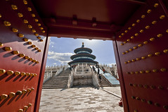 Temple of Heaven (Tommaso Petruzzi ) Tags: china travel portrait colors landscape temple nikon asia chinese beijing hong kong cina cinese
