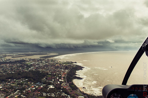 Storm over Port Macquarie