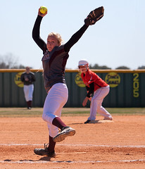 Softball, Blanco (Johnson City) high school (RalphArvesen) Tags: texas highschool softball pitcher johnsoncity