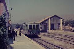 SPAIN 1970 (June) pic01 (streamer020nl) Tags: station train spain tram espana 1970 railways benidorm spanje estacio
