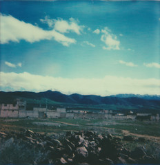atlas mountains (Your Heart's Desire) Tags: polaroid morocco marrakech impossibleproject px70colorprotection