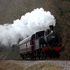 1450 and autocoach (*Firefox) Tags: steam gwr collett greatwesternrailway 1450 canonef100400mmf4556lisusm autocoach southdevonrailway 14xx 042t canoneos5dmarkii 1400class