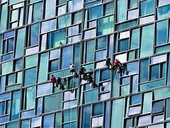Washing The Windows (padams) Tags: nyc windows hotel windowwashers washing standardhotel