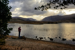 Boy-by-the-lake (rdspalm) Tags: ireland donegal glenveagh realireland irishlandscapes nikond800