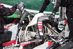 ISOC AMSOIL RAM Trucks Snocross (mwgiesbrecht) Tags: snow sports racing mechanic snowmobile polaris isoc snocross amsoil