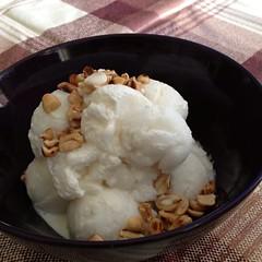 ไอศกรีมมะพร้าวอ่อน | Young Coconut Ice Cream @ ไอติมมะพร้าวอ่อน 100% | Young Coconut 100%