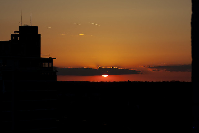 sunset search for panstarrs
