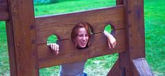 England 1999-0193.jpg (ctmorgan) Tags: castle stocks warwick warwickcastle pillory