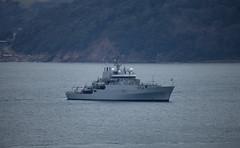 HMS Echo at Anchor (JDurston2009) Tags: plymouth warship royalnavy plymouthsound h87 surveyvessel hmsecho svho