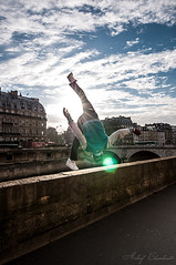 Shooting Hip-Hop improvis (Achraf CHOUCHANE) Tags: bridge sun paris soleil dance freestyle day sunny danse jour just pont hip hop contre debout achraf chouchane