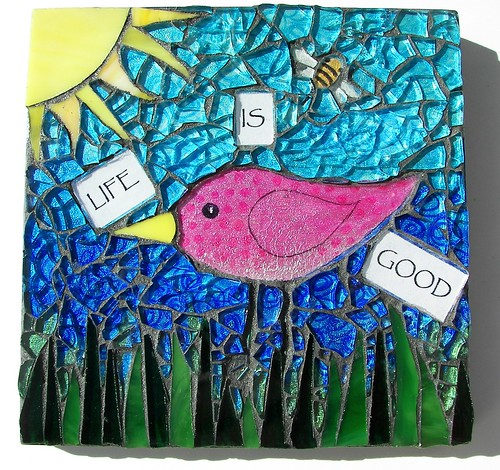 """Life is Good"" wall hanging SOLD"