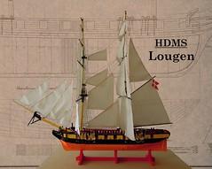 Siden2 (anders t2012) Tags: flickr ship lego sails danish copper rigging skib brig warship dansk napoleonic hdms mocpages lougen