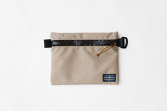 Flat Pouch Sand 02 (Imagery Bags) Tags: zipper ykk waterresistant flatpouch drypouch