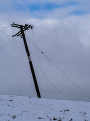 wires down (NOL LUV DI) Tags: snow napier hawkesbay