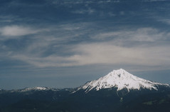 Mount Jefferson from Bachelor Mountain 2, 2016 (Sara J. Lynch) Tags: sara j lynch bachelor mountain willamette national forest oregon cascades mount jefferson snow