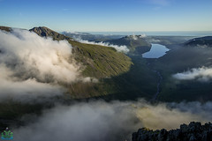 Great Gable to Wast Water Inversion (James G Photography) Tags: greatgable wasdale wastwater lakes lakedistrict cumbria inversion sunset