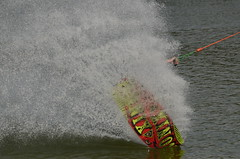 High speed wakeboarding (5) (John de Grooth) Tags: wakeboard wakeboarden highspeed spetterend ermerstrand recreatie watersport spanning tension