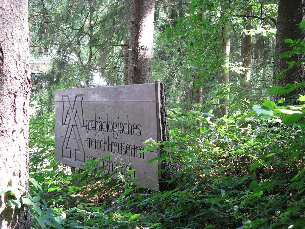 Archäologischen Freilichtmuseum Oerlinghausen 16.04.2014