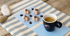 Mini gelati al cacao e caff (@ficoeuva) Tags: panna caff cacao caffvergnano vergnanosisceglie gelato dolce icecream coffee coffeeandnews