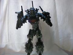 The Adversary 5 (quartzroolz) Tags: quartz roolz moc big burly man bionicle robot toa titan android bustersword guns skull spider mask god thats alot over design