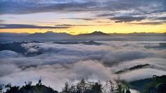 ~~  Sunrise above clouds (Shang-fu Dai) Tags:  taiwan  clouds nikon d800 afs24120mmf4 sky    sunrise landscape formosa nantou