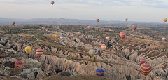 Cappadocia (A Sutanto) Tags: hot air balloon balloons ride morning goreme turkey aerial view valley landscape cappadocia