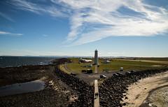 Lighthouse Garskagaviti. (joningic) Tags: garskagaviti viti lighthouse nature sviceland sea sky clouds cloudy cloud landscape