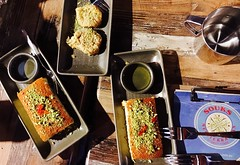 Desserts from Souks Mediterranean Street Food, Pyrmont, Sydney, Australia (starloz) Tags: souksmediterraneanstreetfood pyrmont souks mediterranean baklava knafeh