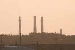 urban (lukdayran) Tags: urban factory smog pollution
