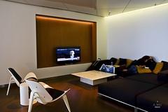 TV Lounge (A. Wee) Tags: cathaypacific  thebridge  lounge hongkong hkg    china tv