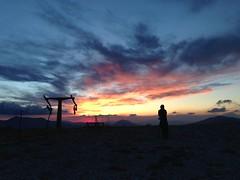 Watching the show! (PaoloMariella) Tags: sunset rocca di mezzo abruzzo
