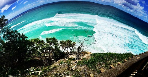 #straddie #ride #weekend #biblesociety #biblejoe #pano  The world is round