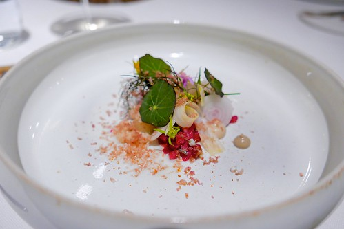 Tartare, herring, dried salted, grated loin