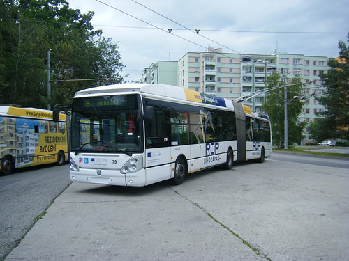 Ceske Budejovice trolleybus No. 79