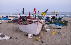 3727-PLAYA DE PESCADORES EN ISLANTILLA - (HUELVA ) (-MARCO POLO--) Tags: rincones atardeceres costas playas barcas ocasos