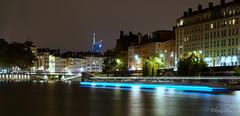 Vieux Lyon (@lex4-Photo) Tags: lyon old town vieux sane river reflection rflexion night nuit water eau btiments pont