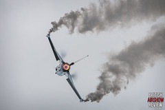 Royal International Air Tattoo 2016 - Belgium Air Force F-16 Solo (British Airshow Review) Tags: royal international air tattoo 2016 raf usaf us force jets helicopter speed afterburner display airshow united kingdom fairford typhoon hawk red arrows canon photography 300mm f28 debut f35 f22 raptor hornet f18 chinook ramex delta mig29 french polish