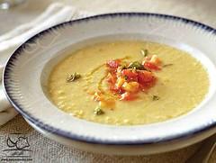 سوپی خوشمزه با سوپ ذرت با گوجه ی تازه (وبگردی) Tags: سو سوپ سوپگوجه گوجه