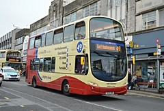 411 BJ11XHO (PD3.) Tags: volvo wright gemini brighton hove district bus coach company go ahead goahead group buses psv pcv sussex england uk 411 bj11xho bj11 xho